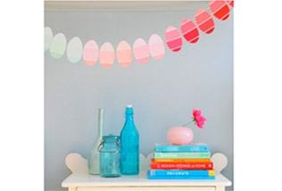 Paint card Easter egg banner