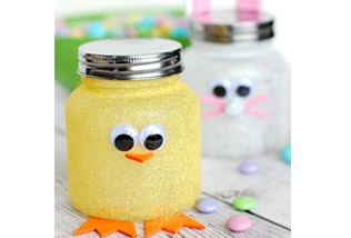 Easter lolly jars