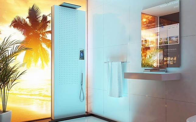 Future bathroom shower
