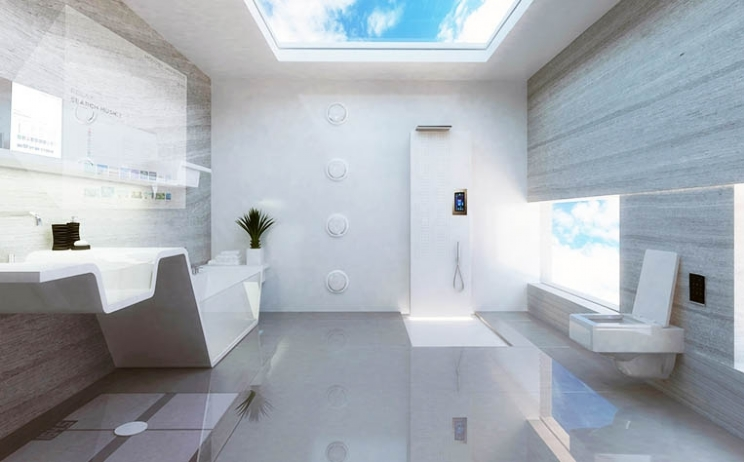 From modest bathroom to advanced health, beauty and entertainment space