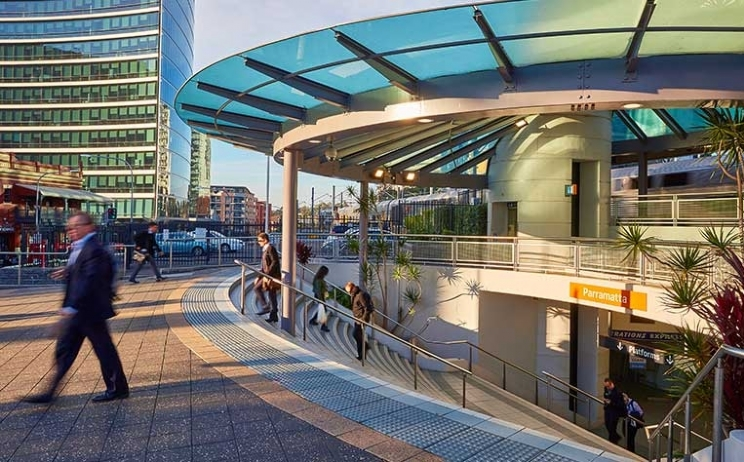 How is the changing landscape in Parramatta impacting residential property?