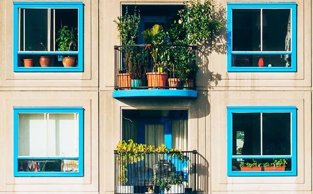 Urban gardens - balcony