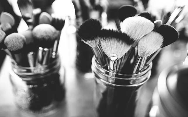 Reusing candle jars - store makeup