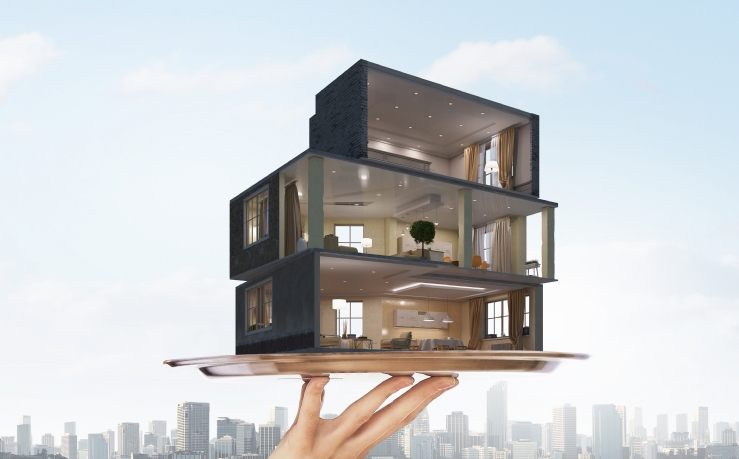 savills blog: self contained affordable housing