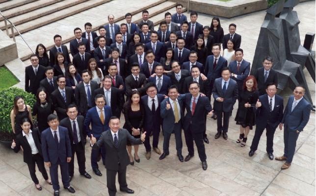 第一太平戴維斯行政總裁李偉文所帶領的投資團隊