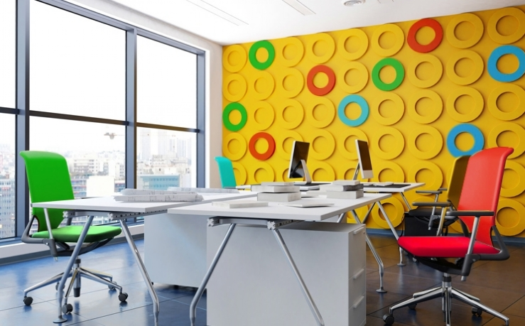 savills blog - colour your office
