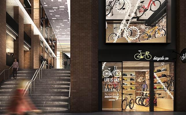 Retail space via Kent Street