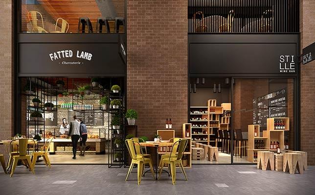 Barrack Place retail