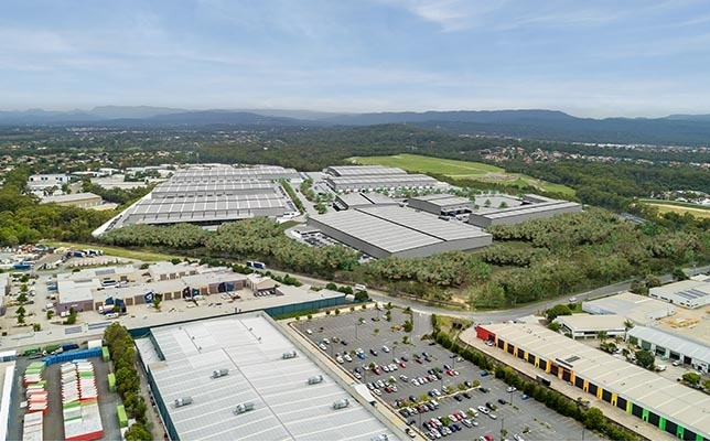Artist Impression of Gold Coast Logistics Hub