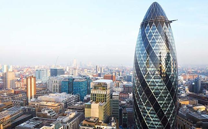 The Gherkin, London UK - $1.4 billion