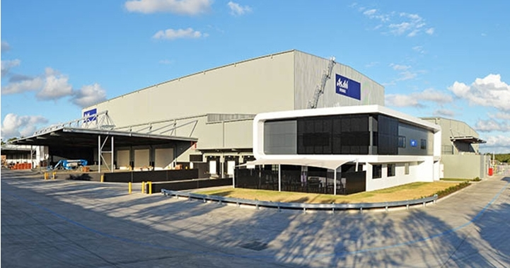 Example: LOGOS facility for Asahi Beverages