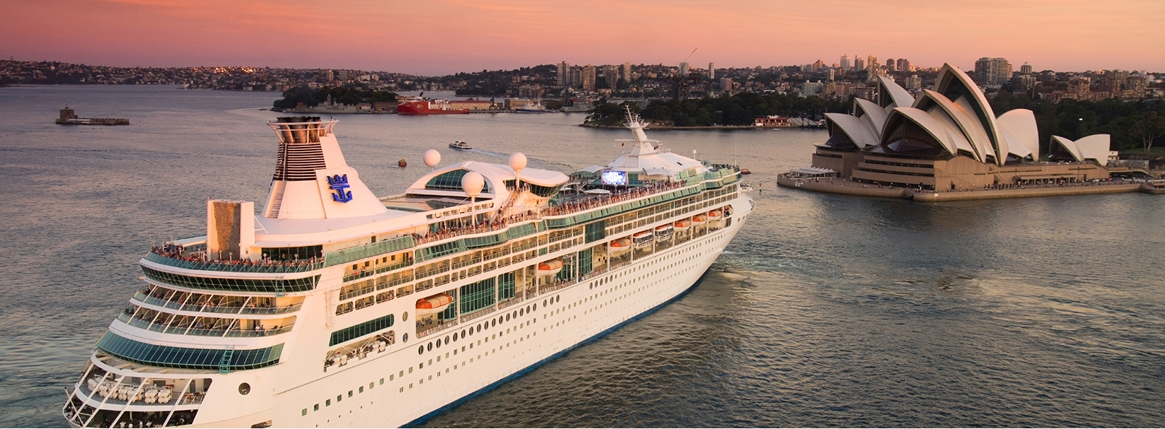 Cruise Ships Docking at a Hotel Near You