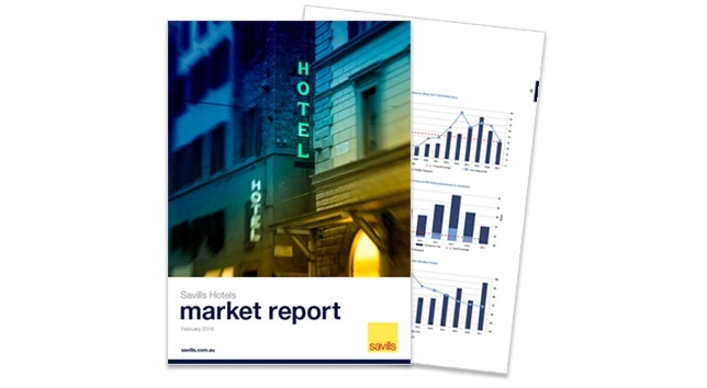 View the Savills Hotels Market Report 2018