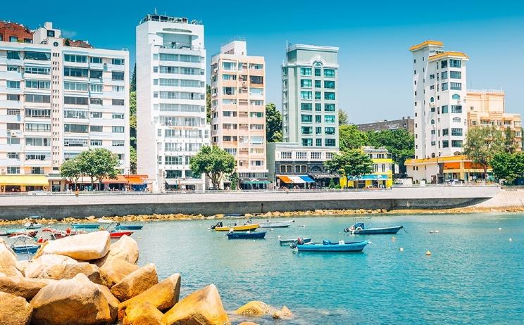 Stanley waterfront, Hong Kong