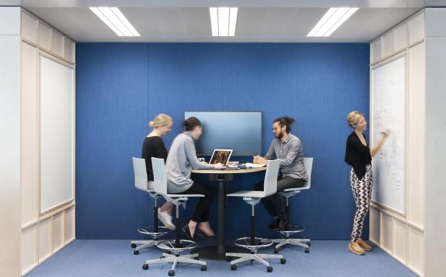 Swiss Re Sydney office meeting room