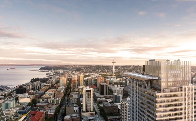 First Light, Seattle exterior view